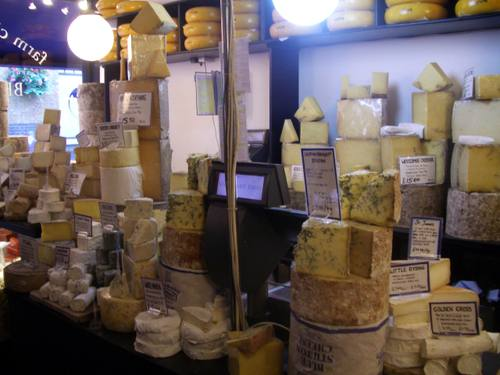 Mountains of cheese
