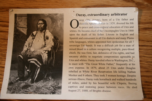 history of the ouray name